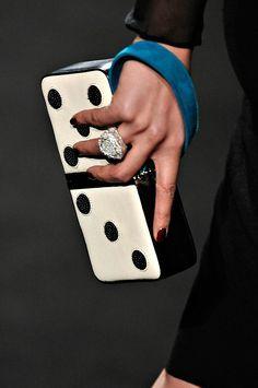 domino clutch.