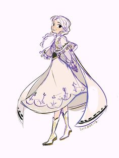 Princess Anna from Disney's movie Frozen