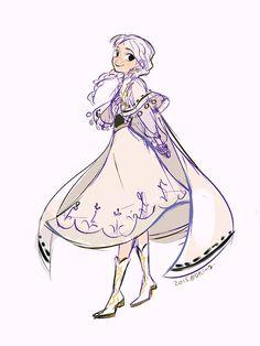 Frozen Anna BY Souno