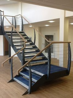To complement our Pro-Railing range of products, we offer a wire rope system as a choice of infill. The stainless steel 3mm strand wire rope system is a simple and cost effective alternative to our cross bar system. It can be fixed to most surfaces including wood, metal and brick and gives an industrial feel to your balustrade, making it ideal for external applications in residential and commercial environments. Industrial House, Bunk Beds, Brick, Alternative, Commercial, Wire, Stainless Steel, Range, Metal