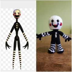 Amigurumi Marionette Five nights at freddy's Place orders at jennifersstitchedup@yahoo.com