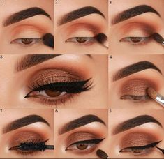 15 Sexy Eye Makeup Tutorial For Beginners To Look Great - Page 8 of 15 - Fashion. - - 15 Sexy Eye Makeup Tutorial For Beginners To Look Great – Page 8 of 15 – Fashion… – 15 Sexy Eye Makeup Tutorial For Beginners To Look Great – Page 8 of 15 – Fashion… – Matte Eye Makeup, Sexy Eye Makeup, Bronze Eye Makeup, Makeup Eye Looks, Eye Makeup Steps, Eye Makeup Art, Hooded Eye Makeup, Simple Eye Makeup, Makeup 101