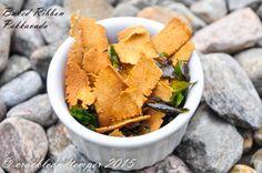 Baked Pakkavada - A Savoury Kerala snack but baked version  #Diabetesandfood
