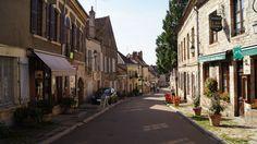 Petit village en Bourgogne