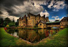 Hever Castle, former property of the Boleyn family.