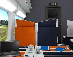 "Check out new work on my @Behance portfolio: ""Modern Train Interior"" http://be.net/gallery/48604537/Modern-Train-Interior"