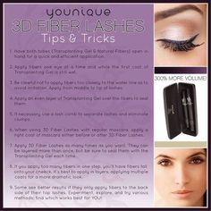 How to apply Younique 3D Fiber Lashes for the best results! #younique #bestmascara #howtoapplymascara