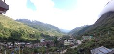 View from Yarlam Resort, Lachung, Sikkim, India.