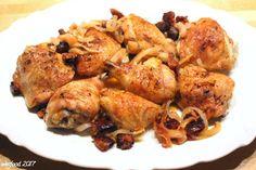 WesFood: Hähnchenschenkel mit Zwiebeln und Chorizo