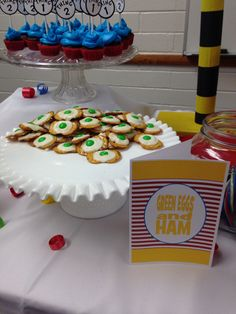 Dr. Seuss YW in Excellence refreshments