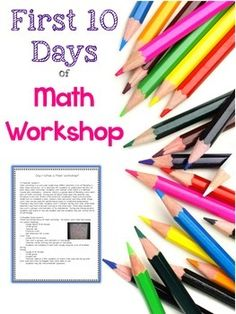 Get started on the right foot with these 10 math lessons to teach routines and procedures the first days of school! Now includes an interactive notebook for each procedural lesson. $