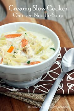 I know it's April, but we still have snow in the forecast for today here in Colorado, which means it's still soup season. And nothing beats chicken noodle soup when it comes to classic comfort food...