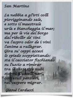 San Martino - Giosuè Carducci