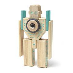 Tegu Future Magbot 9 piece set robot
