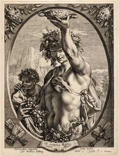 'Bacchus' by Hendrik Goltzius. (Click to view full size, hi-rez image.)