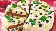 8d98fd2ee14ba Heidelbeer-Eierlikör-Torte mit Schokobiskuit