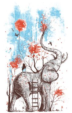 elephants are my favorite ..(or should this go under ART?)