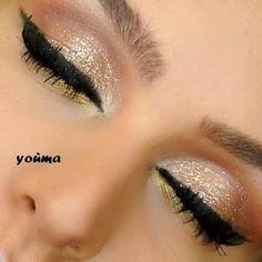 pink gold eye