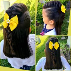 little-girl-hairstyles - Fab New Hairstyle 1 Little Girl Hairdos, Lil Girl Hairstyles, Mohawk Hairstyles, Princess Hairstyles, Pretty Hairstyles, Formal Hairstyles, Teenage Hairstyles, Toddler Hairstyles, Short Haircuts