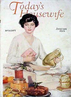 Vintage Magazine Cover - 1918