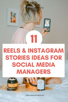 It's time to put an end to the Social Media Manager creative block! We've got 11 different content ideas you can use in your business' Instagram Reels and Stories. Go ahead & bookmark this article for later. Social Media Marketing Manager, Digital Marketing Strategy, Instagram Story Ideas, Instagram Tips, Social Media Content, Social Media Tips, Business Stories, Instagram Marketing Tips, Social Media Engagement