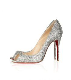 e18bae6c31d5 Christian Louboutin Sexy Strass 100 Swarovski Crystal Peep-Toe P Shoe  Boots
