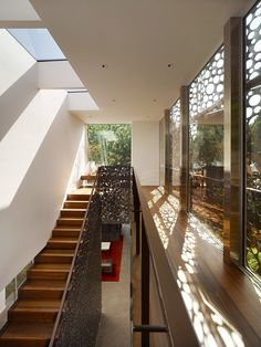 Inspiring Walnut Residence Embodying Unique Perforations