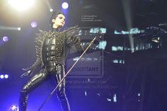 bill kaulitz concert | Bill Kaulitz, Humanoid tour 6. by ~violet-funeralflower on deviantART