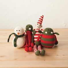 A Very Danger Christmas Collection - Free Pattern by Rebecca Danger