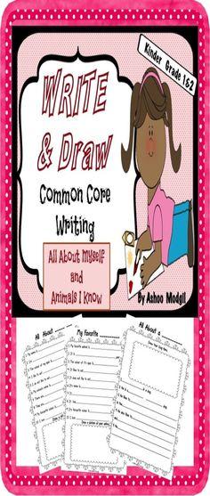 Children can make personal connections easily to start writing about themselves and animals they know.These worksheets are great for students who are beginning to write.These are great for early finishers, homework, morning work or literacy centers. The Topics are: 1. All About Myself 2 My Favorite Animal 3 All About a Dog 4 All About a Fish
