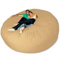 Micro Suede Giant Bean Bag Chair. Now this is the epic cuddle chair