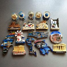 My new lovely Greece  #карта #fridgemagnets #map #magnet #magnets #souvenirs #instacollage #souvenirmagnets #aimant #imanes #магнит #магниты #магнитики #магнитынахолодильник #минск #memomagnetica #magnetcollection #santorini #halkidiki by niha4uha