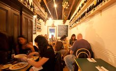 10 William street.  Great Italian bar snacks.