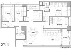 台北 36 坪學者夫婦的舊屋翻新宅 - DECOmyplace