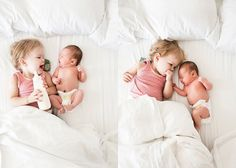 newborn and sibling...