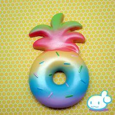 Jumbo Pineapple Donut Squishy