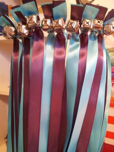 100 Twirling Wedding Wand Ribbon Bell Streamers by DivinityBraid