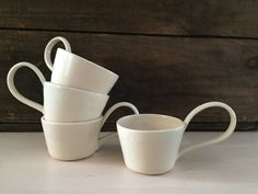 Porcelain Punch Cup by VAceramics on Etsy