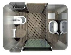 Salle de bains préfabriquée pour navires Waterloop System s.r.l.