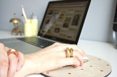 Poppytalk: DIY Faceted Clay Rings