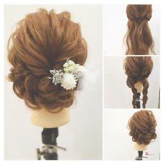 「これ自分でやったの♡」ドレス別・結婚式お呼ばれヘアアレンジ - Locari(ロカリ)
