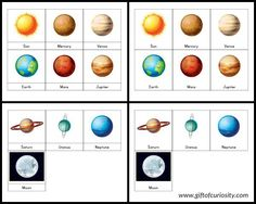 Solar System Collage