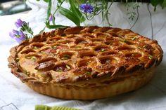 Pistachio & Apricot Pie