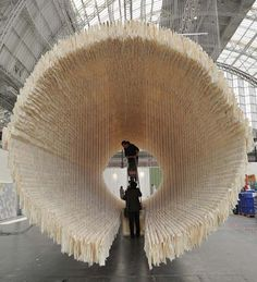 Zhu Jinshi | 'Boat' | 8,000 sheets of rice paper