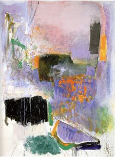 Joan Mitchell - Mooring, 1971 by Jan Lombardi, via Flickr