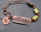 Lime Green Amour Bracelet by For My Sweet Daughter