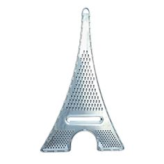 Love this. Eiffel Tower Grater from http://pylones-usa.com. They also have great matchboxes. Great to have a jar full