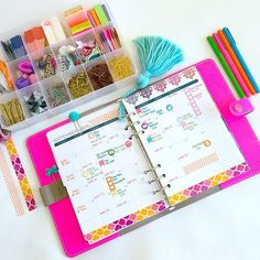 "Monthly pages in my @limelifeplanners ""Charlotte"" A5 inserts  by hautepinkfluff"