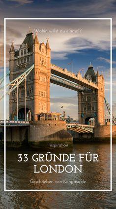 33 Gründe für deine Reise nach London