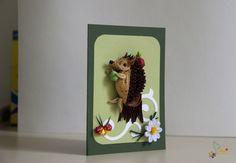 neli: Quilling children cards
